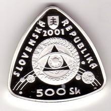 500 Sk(2001-milénium), stav PROOF