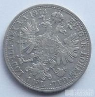Rakousko 1 Fl 1873