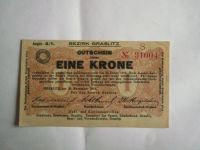 1 Krone, ČSR-Kraslice, 1918