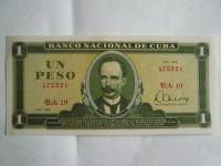 1 Peso, Kuba, 1979