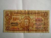 1 Peso, Uruguay, 1939