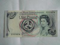 1 Pounds, Ostrov Man, Alžběta II.