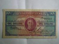 1 Schilling, Malta, 1943