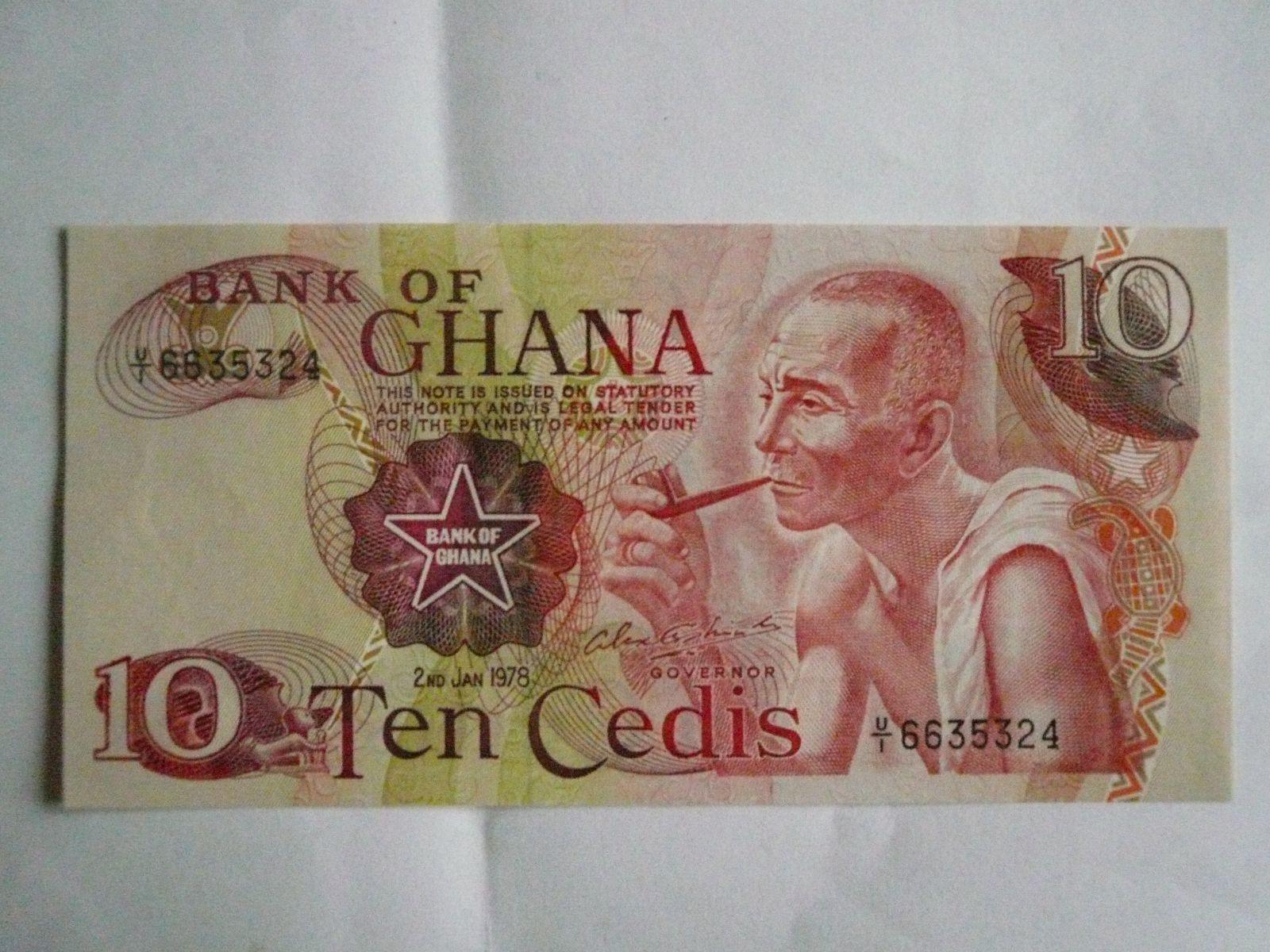 10 Cedis, Ghana, 1978