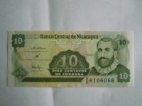 10 Cenavos, Nikaragua, Francisco Cordoba