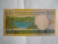 100 Francs, Rwanda, 2003
