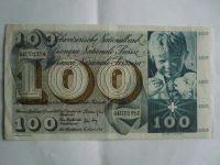 100 Frank, Švýcarsko, 1969