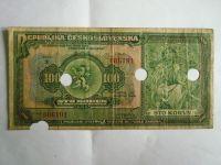 100 Kč, sér. X, ČSR, 1920