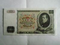 1000 Kč, B-089519, ČSR, 1934