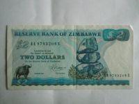 2 Dollar, Zimbabwe, 1983