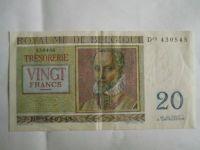 20 Frank, Belgie, 1956