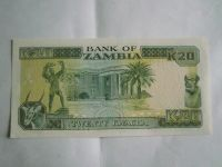 20 Kwacha, Zambie