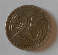 25 Haléř + 20 Haléř – složenina ze dvou mincí