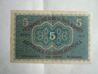 5 Kč, ČSR, 1919, č.0012