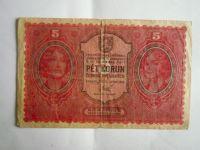 5 Kč, ČSR, 1919