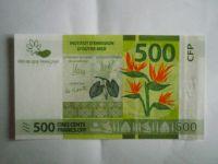 500 Frank, Francie, flóra