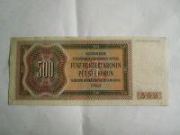 500 Kč, D, Brandl, P.Č+M, 1942