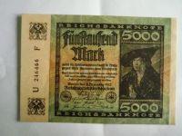 5000 Marek, Německo, 1922