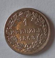 Bavorsko 1 Krejcar 1863 stav