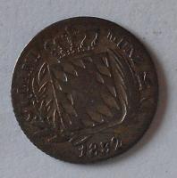 Bavorsko 3 Krejcar 1832