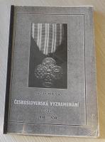 Čs. vyznamenání – Václav Měřička I. část