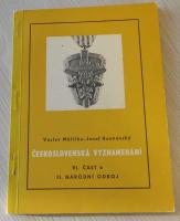 Čs. vyznamenání VI. část b
