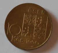 ČSFR 10 Koruna, Ronai 1990