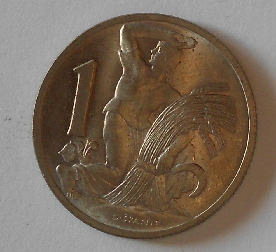 ČSR 1 Koruna 1937