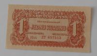 ČSR 1 Koruna ET 1944 perfor.