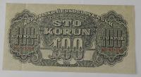 ČSR 100 Koruna MB 1944 perfor.