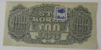 ČSR 100 Koruna OH kolek 1944