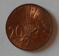 ČSR 20 Haléř 1948