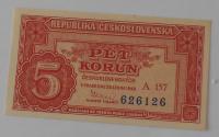 ČSR 5 Koruna A157 1949