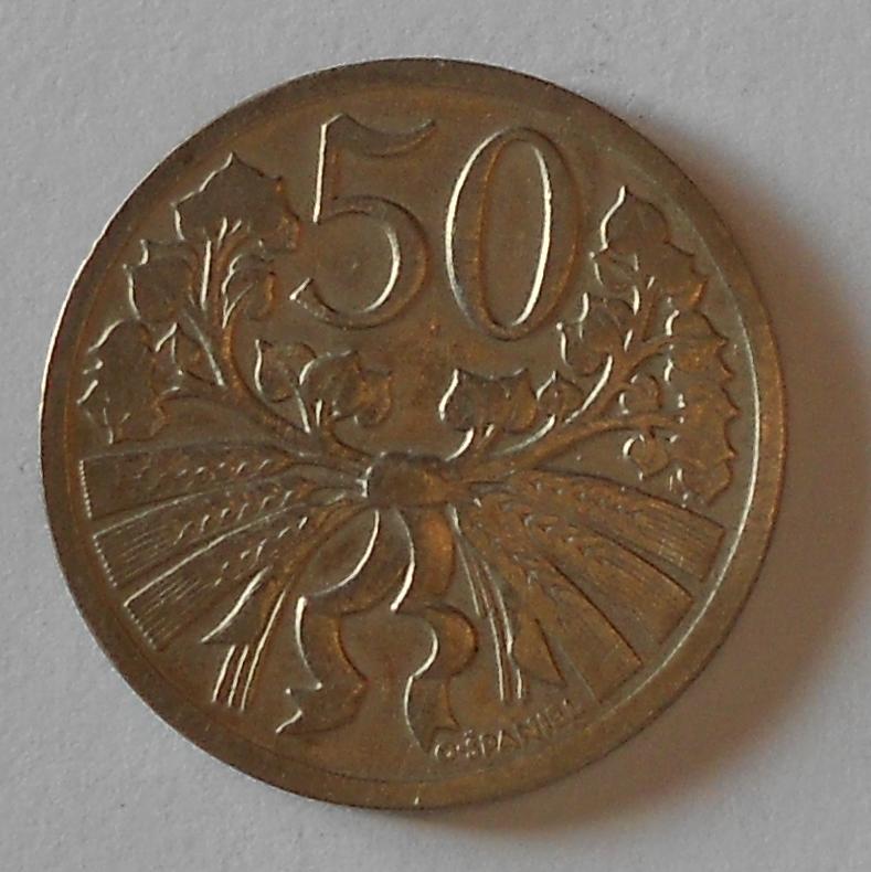 ČSR 50 Haléř 1925