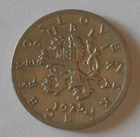 ČSR 50 Haléř 1925 stav