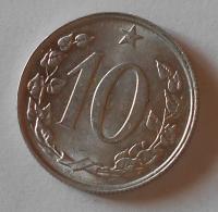 ČSSR 10 Haléř 1969 stav