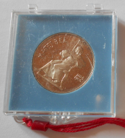 ČSSR 100 Koruna 1984 M. Bell, PROOF