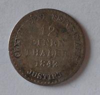 Hannover 1/12 Tolar 1842