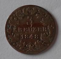 Mossen 3 Krejcar 1848