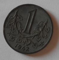 P-Č+M 1 Koruna 1942