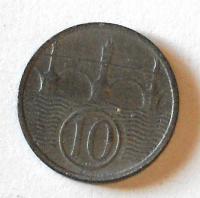 P-Č+M 10 Haléř 1943