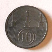 P-Č+M 10 Haléř 1944 stav