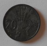 P-Č+M 20 Haléř 1942