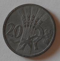 P-Č+M 20 Haléř 1943