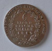 Prusko 1/6 Tolar 1813 A Frid. Wilh. III.