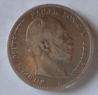 Prusko 5 Marek 1876 A Vilém I.