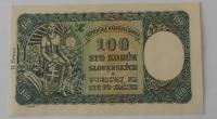 Slovensko 100 Koruna H4 1940 perfor.