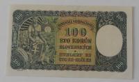 Slovensko 100 Koruna N-2 1940 perfor.