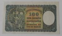 Slovensko 100 Koruna O-1 I. vydání 1940 perfor.