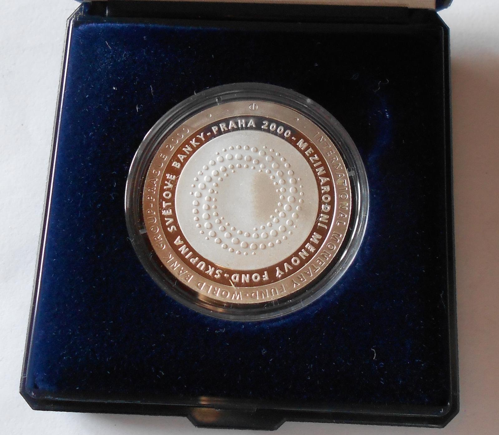 200 Kč(2000-MMF), stav PROOF, etue + certifikát